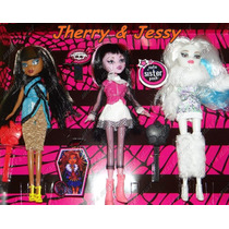 Boneca Monster High Magic Girls Pronta Entrega