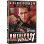 Dvd Guerreiro Americano Ninja 1 ( Michael Dudikoff ) Dublado