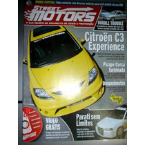 Revista Street Motors Tunning C3 Parati Corsa Turbo Auto Nos