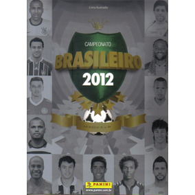 Álbum Figurinhas Campeonato Brasileiro 2012 Completo P/colar