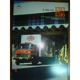 Folder Mercedes Benz Caminhão 1313 1316 L Lk Catalogo Truck