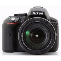 Camara Digital Nikon D5300 24.2mp Kit 18-55 Réflex Full Wifi