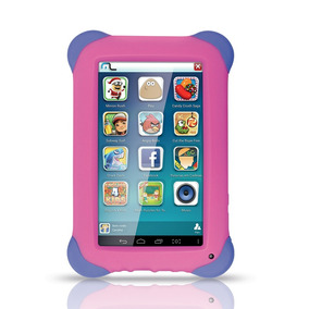 Tablet Infantil Kid Pad Rosa Nb195 Multilaser