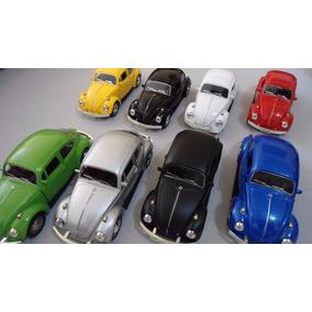 Carrinho Miniatu Fusca 1967 Beetle Miniatura 1/32 Ferro Cl16