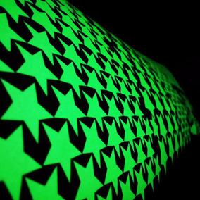Kit 300 Estrellas Fluorescentes Brillan Obscuridad Con Envio
