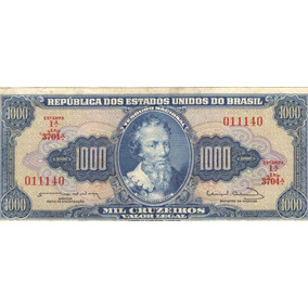 C 056 Mbc+++ Mil Cruzeiros De 1963