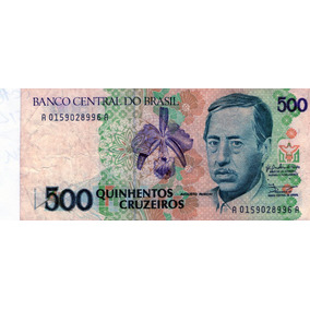 Cédula De 500 Cruzeiros Augusto Ruschi