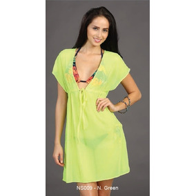 Pareo Unitalla Tipo Vestido - Marina West Ns009 Neon Green