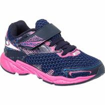 Promoção Tênis Infantil Feminino Klin Step Flex Velcro