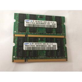 Par Memoria Ram Com Total De 3gb Ddr2 Pc2 2rx8 5300s 667 Mhz