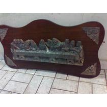 Quadro Santa Ceia Antigo Estanho Decada De 40 (only Wood)