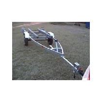 Carreta P/ Barco 360kg Pintada Ou Galvanizada - Reboque