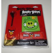6 Sets De Accesorios Angry Birds Accessory Set - Pig