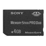 Cartão De Memória Sony Pro Duo 4gb Camera Digital Dsc-w110