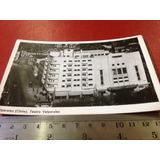 Teatro Valparaiso Chile Foto Postal Cine