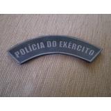 Distintivo Emborrachado Policia Do Exército De Braço