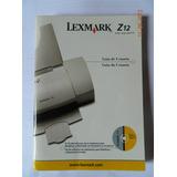 Guia Usuário Impressora Lexmark Z12 Color Jetprint