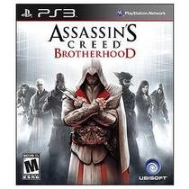 Jogo Americano Assassins Creed Brotherhood Ubisoft Para Ps3