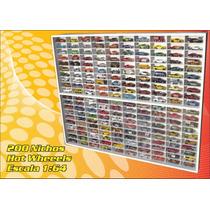 Estante Expositor (200) Nichos Hot Wheels 1;64 -1.00x82x6,5