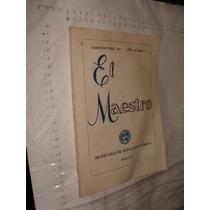 Libro Revista El Maestro Año 1967 , 112 Paginas