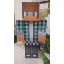 Boneco Youtuber Authentic Games Minecraft