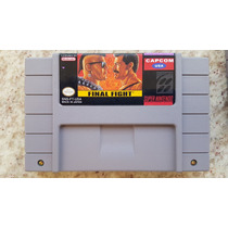 Final Fight Americano Para Super Nintendo