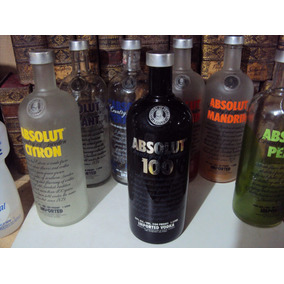 Vodka Absolut 100 A Preta Com Rosca Vazia [orgulhodoml]1lt