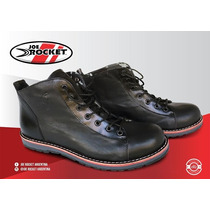 Bota Moto Joe Rocket Usu Casual 100% Cuero