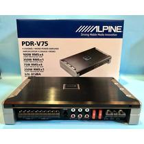Amplificador Alpine Pdr-v75 5 Canales Potencia 1500w Maxima