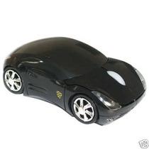 Mouse Óptico Sem Fio 2.4ghz Em Forma De Carro Da Ferrari