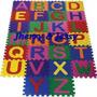 Lindo Tapete Eva Colorido Alfabeto Completo 26 Peças 29x29cm