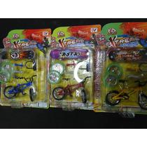 06 Itens 03 Mini Bicicleta E 03 Skate Dedo + Acessorios