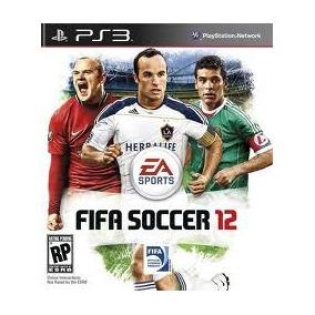 Jogo Semi Novo Fifa Soccer 2012 Do Playstation Ps3 Impecavel
