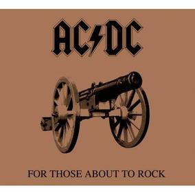 Ac/dc - For Those About To Rock - Cd Novo Lacrado