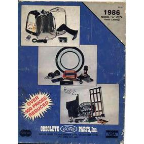 Catálogo Auxiliar Restauro Mundial De Peças Da Ford 1986