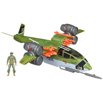 Gi Joe, Ghost Hawk Ii Vtol Conrad Duke, Avion De Guerra