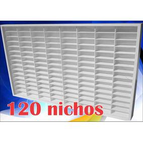(120) Hot Wheels 80x62x6,5 Estante Coleção Decoração Exposit