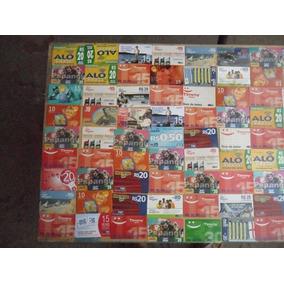 Pequena Coleção De Cartões De Recarga De Celular