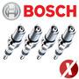 Jogo De Velas Ignição Bosch Sp04 Vw Gol G2 1.8 Gasolina 1995