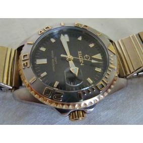 Relógio Elgin Plaquet Ouro
