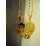 Corrente Do Amor (coração Corta Na Metade Pra Cada 1)