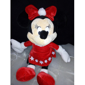 Peluche Minnie Mouse Con Cascabel Disney Hermosa Mimi