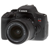 Canon Rebel T6i 24.2mp Full Hd Kit 18-55mm + Envio Gratis!