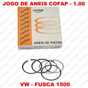Jogo Aneis 100 Vw Sedan Fusca Kombi 1500 1.00 Cofap