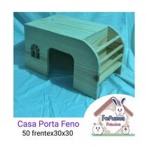 Casa Coelho Com Porta Feno 50 Cms De Frente