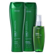 Doctor Hair Daily Amazon Kit Shampoo + Condicionador + Oleo
