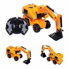 Caminhão Máquina Escavadeira Com Controle Remoto