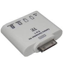 Adaptador 2x1 Ipad Micro Sd Camera Teclado Iphone Usb Ipod