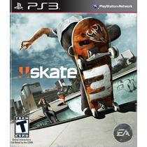 Skate 3 Playstation Ps3 - Sk8 Mídia Física Lacrado