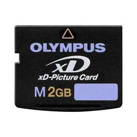 Xd2 Cartão De Memoria Xd 2gb Camera Digital Olympus X760